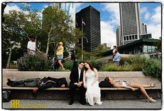 Rules for Shooting Wedding Couples (Ryan Brenizer) Tags: nyc wedding love fun groom bride nikon funny manhattan marriage noflash batterypark d3 2470mmf28g
