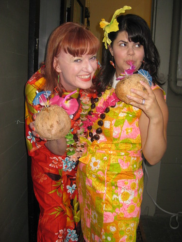 The Mid-Century Supper Club Potluck LUAU!!!