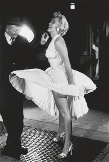 Billy Wilder junto a Marilyn Monroe