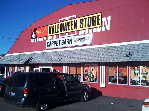 but the storefront where spirit decided to set up this year is the old carpet barn on south carsonwe stopped by yesterday here are some photos of the - Halloween Store Spirit