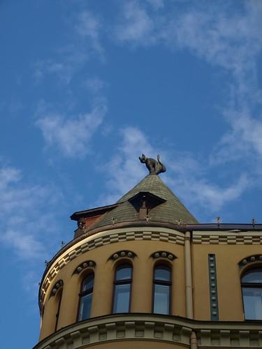 The Cat House, Riga by Carlo Tancredi