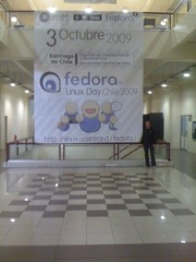 Gigantografía - Fedora Linux day Chile 2009