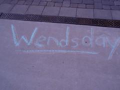 Wendsday