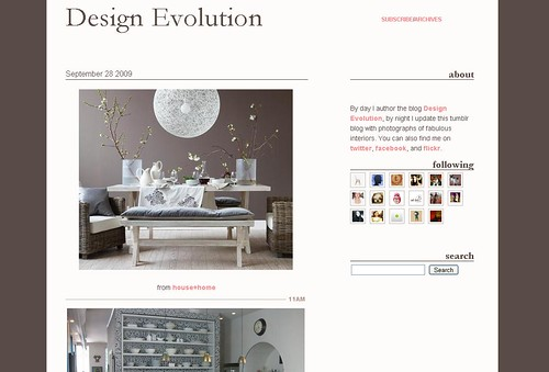 design evolution tumblr