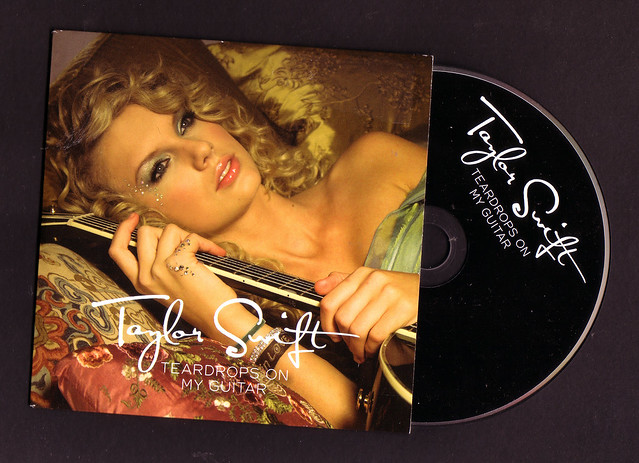 Taylor Swift - Teardrops On My Guitar UK promo CD single