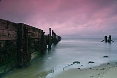 Bembridge point (steveIOW) Tags: longexposure sea beach point isleofwight nd filters grad bembridge flickrgolfclub
