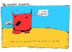 """""""last bravery"""" - a Yo & Dude comic by eric Hews  2009 (eric Hews) Tags: from sleeping copyright dog cats cute dogs television illustration cat puppy advertising fun corporate sadness virginia puppies kitten funny eric artist comic employment drawing sleep web yo humor cartoon emo creative insulation culture kitty free funnies kittens philosophy move pop richmond dude pack strip depression reality writer comicstrip mean illustrator haha toon simple behavior society 2009 exhausted sarcasm unemployment freelance sarcastic timewarp psychology recharge foreclosure ambivalent hews yodude erichewscom yoanddude erichews yodude 2009erichews ennuizle"""