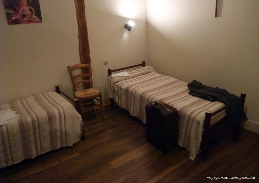 Authentiques chambres de moines :)