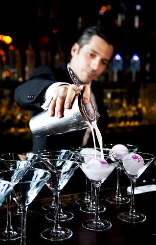 The bartender representing Daniel