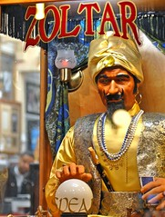 zoltar speaks (pbo31) Tags: sf sanfrancisco california city urban color window yellow mystery spring big nikon may tourist fortune speaks bayarea fishermanswharf d200 wish pier39 genie 2010 revelation zolar sanfranciscocounty