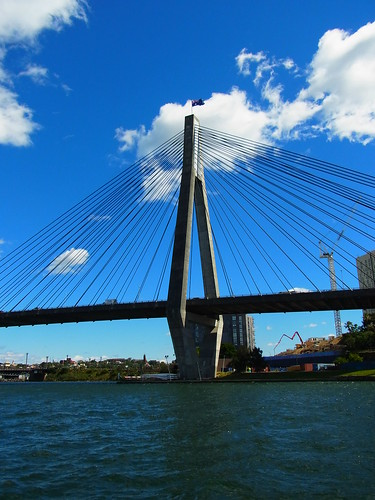 Anzac Bridge East Pillar