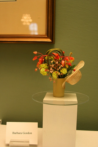 miniature floral arrangements