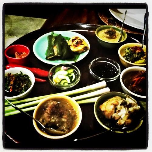 Rijistafel in Bumbu Bali Nusa Dua