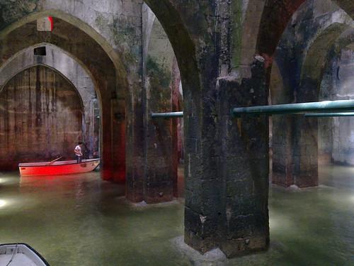 Underground pool, Ramla