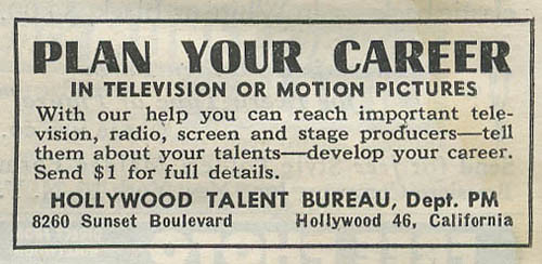Hollywood Talent Bureau_tatteredandlost