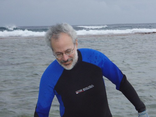 Mark in his wetsuit