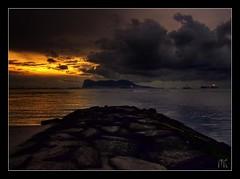 De roca a Roca (Nukamari) Tags: clouds dawn mar panasonic amanecer nubes gibraltar soe hdr roca palmones campodegibraltar golddragon mywinners abigfave platinumphoto anawesomeshot bravodeniednotinvited lumixaward fz18 goldstaraward