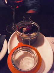 Chocolate pudding at Alembic