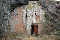 (Sameli) Tags: world door 2 urban abandoned facade suomi finland underground helsinki rust war exterior decay c exploring wwii 1940 rusty tunnel bunker ii ww2 cave shelter bomb exploration 92 ue urbex