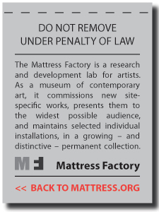 Back to MATTRESS.ORG
