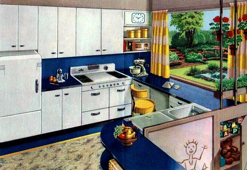 Flickriver Photoset Vintage Kitchens Amp Laundry Rooms By