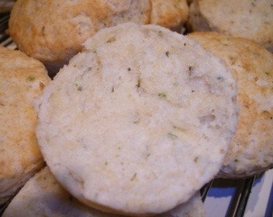 Cookbook Casting Call: herbed biscuits open