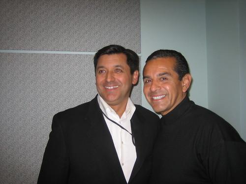 SF Treasurer José Cisneros and Villaraigosa