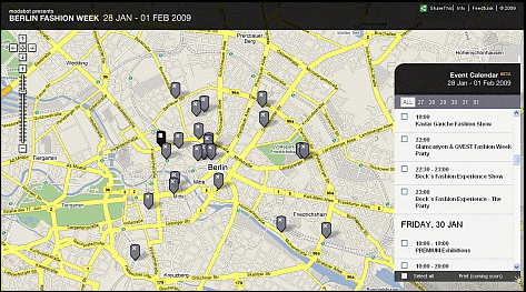 modabot berlin fashionweek map