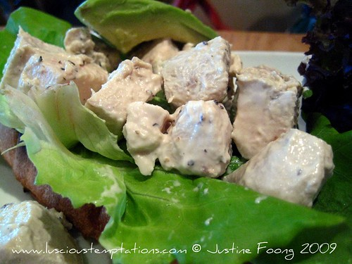 Chicken and Avocado Sandwich - Delicious, Kuala Lumpur