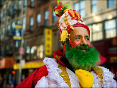 The Emperor of Chinatown (James Petrille) Tags: new york city nyc les colombia chinatown manhattan side chinesenewyear east poodle lower grandstreet yearoftheox mscolombia