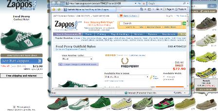 Zappos link to purchase