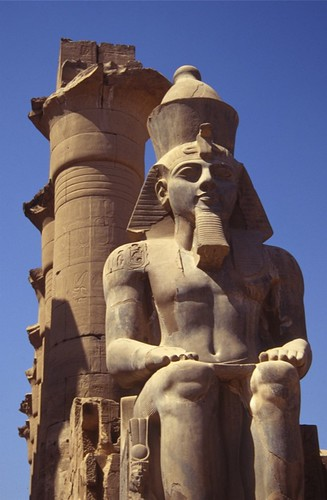 Statute of Ramses II, Luxor Temple, Egypt
