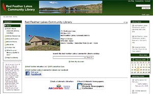 Red Feather Lakes Community Library Homepage