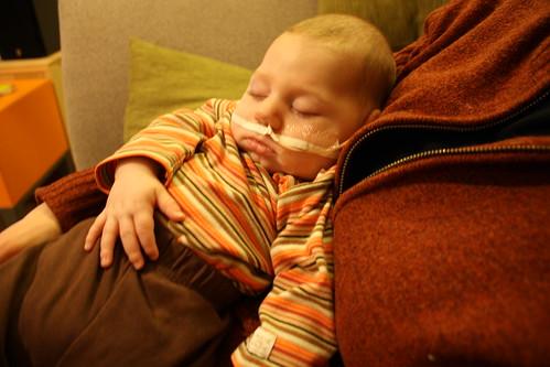 2-21-09-Sleeping