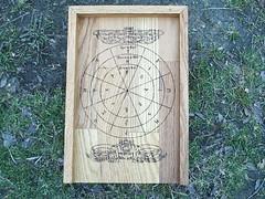 Viking Circle Rune Casting Board (dragonoak) Tags: nordic celtic viking runes futhark asatru diviniation castingboard