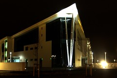 Skills Xchange Castleford 2 (David Wilby) Tags: new uk england white building glass architecture night construction nightshot yorkshire tripod cream skills illuminated nightshoot lit development exchange hdr highdynamicrange westyorkshire manfrotto castleford xchange 3xp vshaped 3ex 3exp 460mg glasshoughton manfrotto190xprob 190xprob wakefieldcollege skillsxchange manfrotto460mg 190xprob460mg