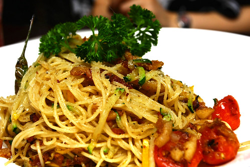 Spicy Angel Hair Pasta