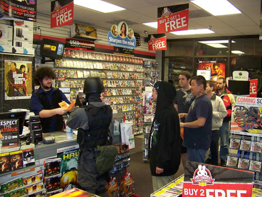 Gamestop Resident Evil 5 Launch Event - Irvine CA | GamingShogun