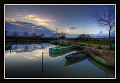 """Hasta mañana"" (Pepelahuerta) Tags: water valencia lagos reflejos canon1022mm awesomeshot canon400d laalbufera ultraangulares pepelahuerta"