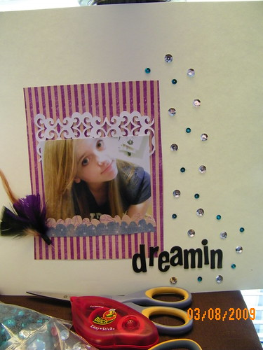 Dreamin scrapbook page by you.