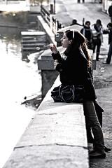 bolle (Giorgio Dua (fuzzy_l0gik)) Tags: street people torino bubbles turin bolle murazzi