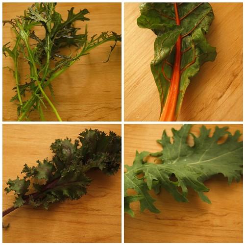 Asian stir-fry greens