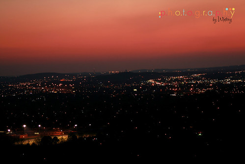 Huntsville at Night