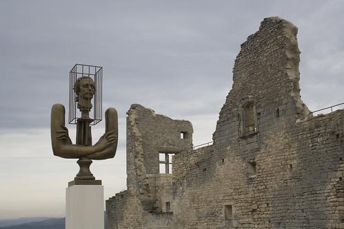 Château du Marquis de Sade à Lacoste