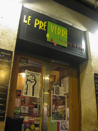 Le pré verre 5eme arrondissement paris