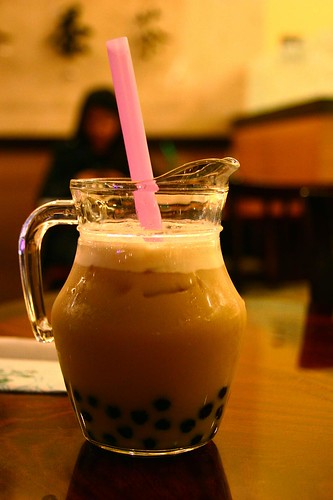 mmm honey milk tea.