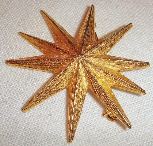 Starburst Brooch