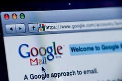 Google Mail website screenshot