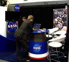 NASA Expo Booth
