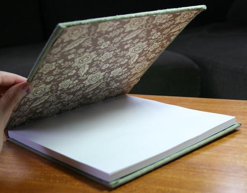 Notebook - inside view